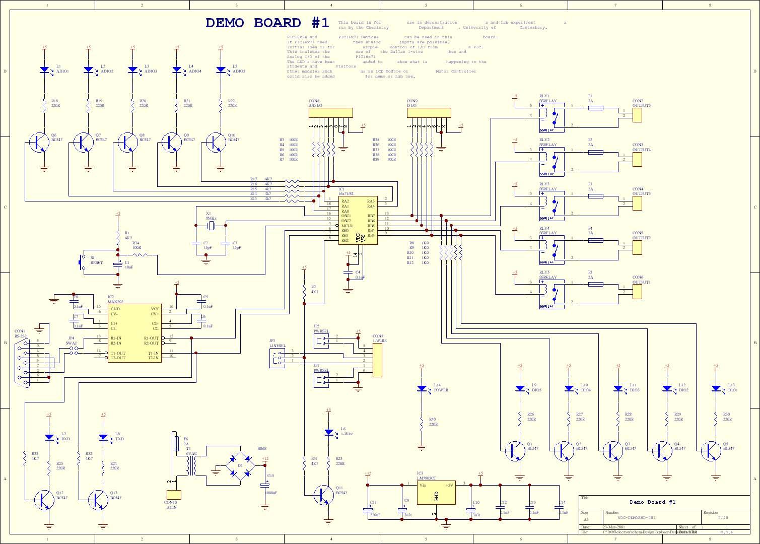 hight resolution of pic demo board submenu