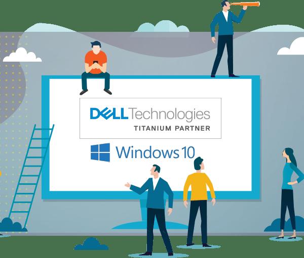 A Microcity é uma parceira Titanium da Dell