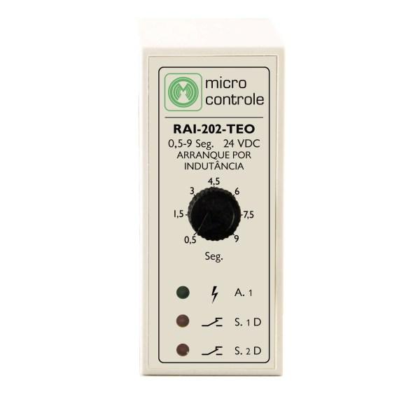 Relé de mando temporizado para arranque - RAI 202 TEO - Vista Frontal