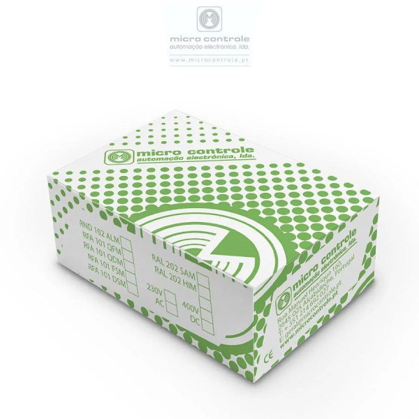Caixa Relés Modulares | micro controle