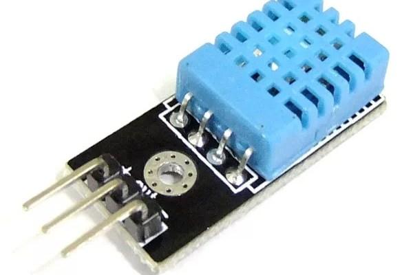 Arduino DHT11 szenzor