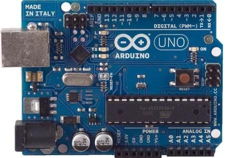 Arduino panel bemutatása - UNO R3