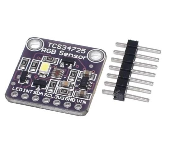 TCS34725 RGB Színérzékelő szenzor