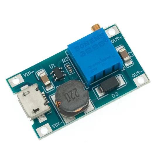 MT3608 DC Boost konverter