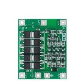 Li-ion töltésvezérlő - BMS 4S 40A - Enhanced