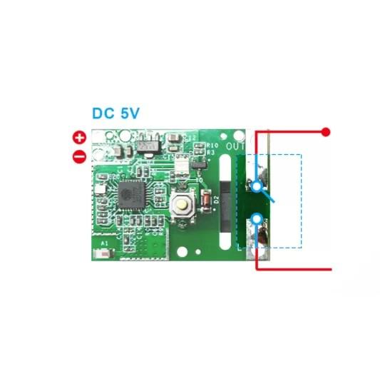 SONOFF RE5V1C 5V - Wifi relé
