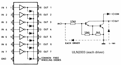 latching relay wiring diagram how to draw a flow net microcontroller.it - t&t pic darlington array