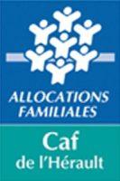 Logo de la caisse des allocations familiales de l'Hérault