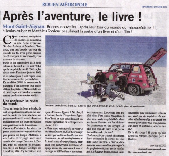 Article Paris-Normandie 06-01-16 JPEG