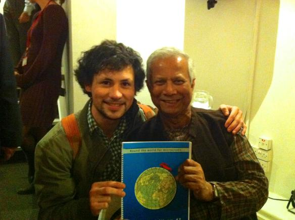 Muhammad Yunus & Microcrédit en 4L