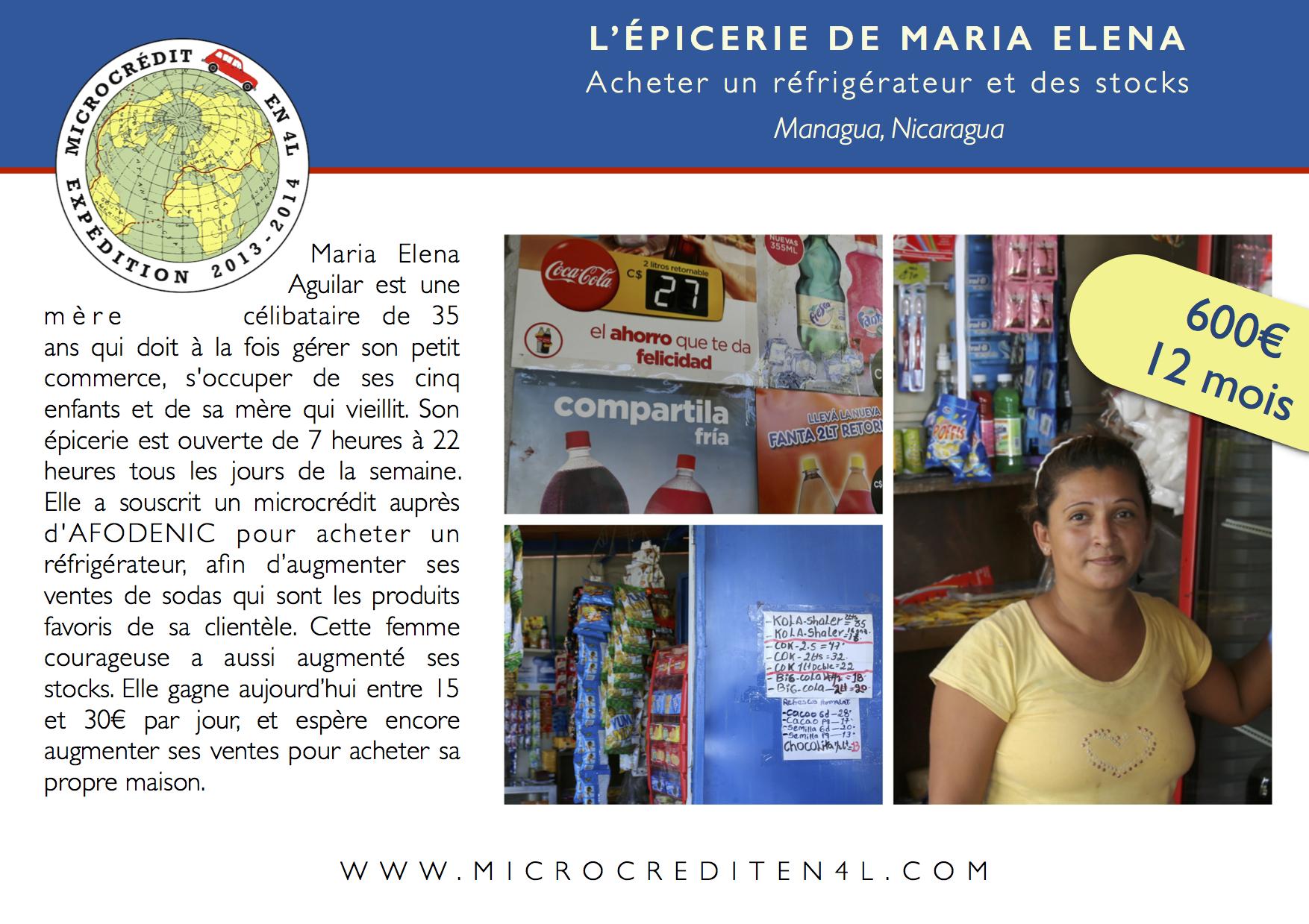 L'épicerie de Maria Elen