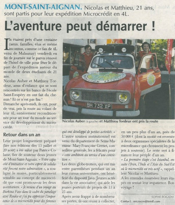 Article Paris-Normandie 04-09-13 JPEG