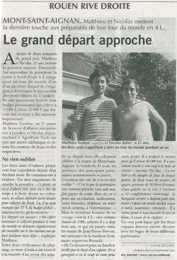 Article Paris-Normandie 20-08-13 JPEG