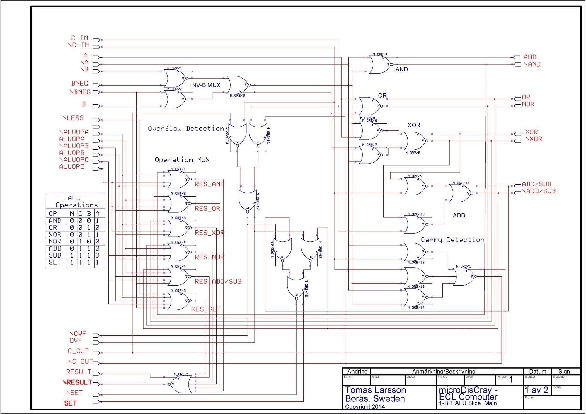hight resolution of mixed mode simulator circuit 1 bit alu page mainpage