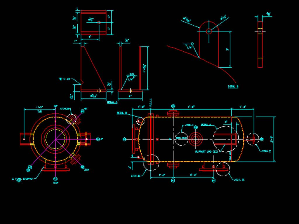 hight resolution of mechanical drafting