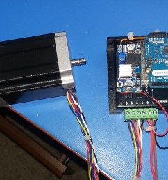 controlling a high torque stepper motor with arduino electronics stepper motor driver schematic group picture image by tag [ 3264 x 1836 Pixel ]