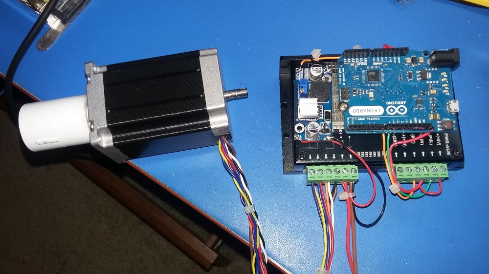 medium resolution of controlling a high torque stepper motor with arduino electronics stepper motor driver schematic group picture image by tag