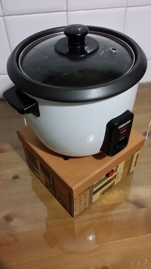 small resolution of  rice cooking machine