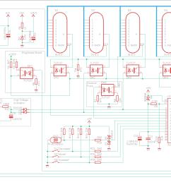 nixie clock circuit diagram [ 1942 x 978 Pixel ]