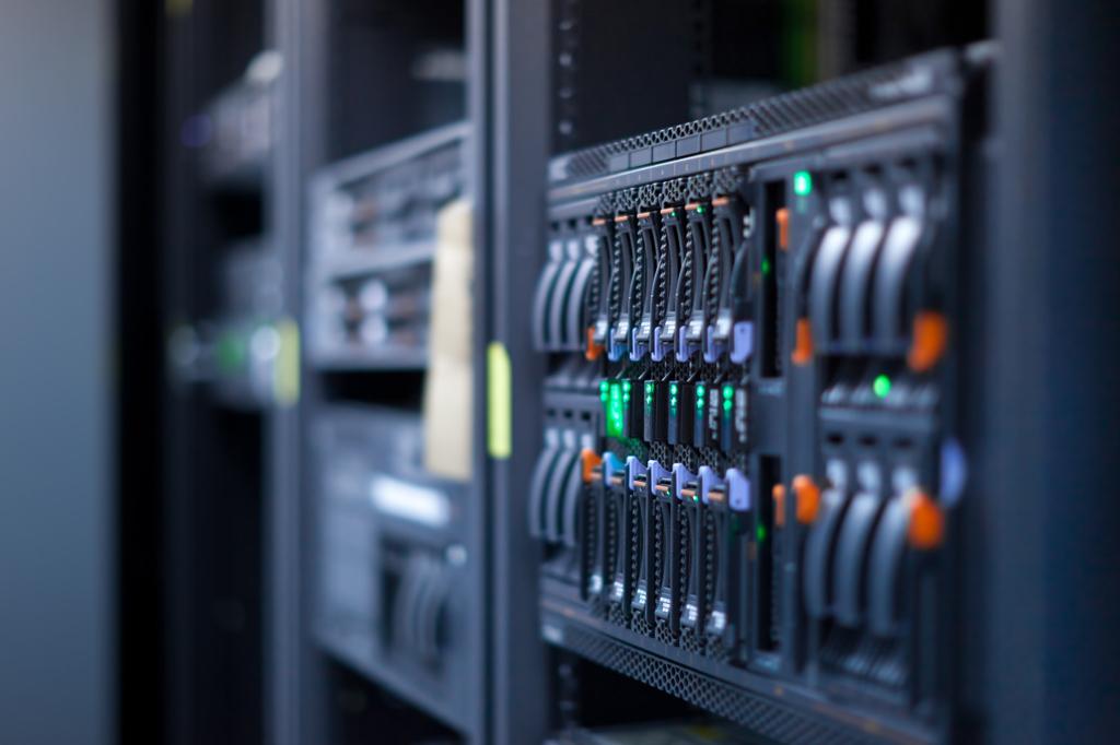 Microfile electronic data storage center