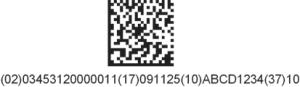 Datamatrix-CodeDatamatrixMF