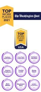 2021 Washington Post Top Workplaces