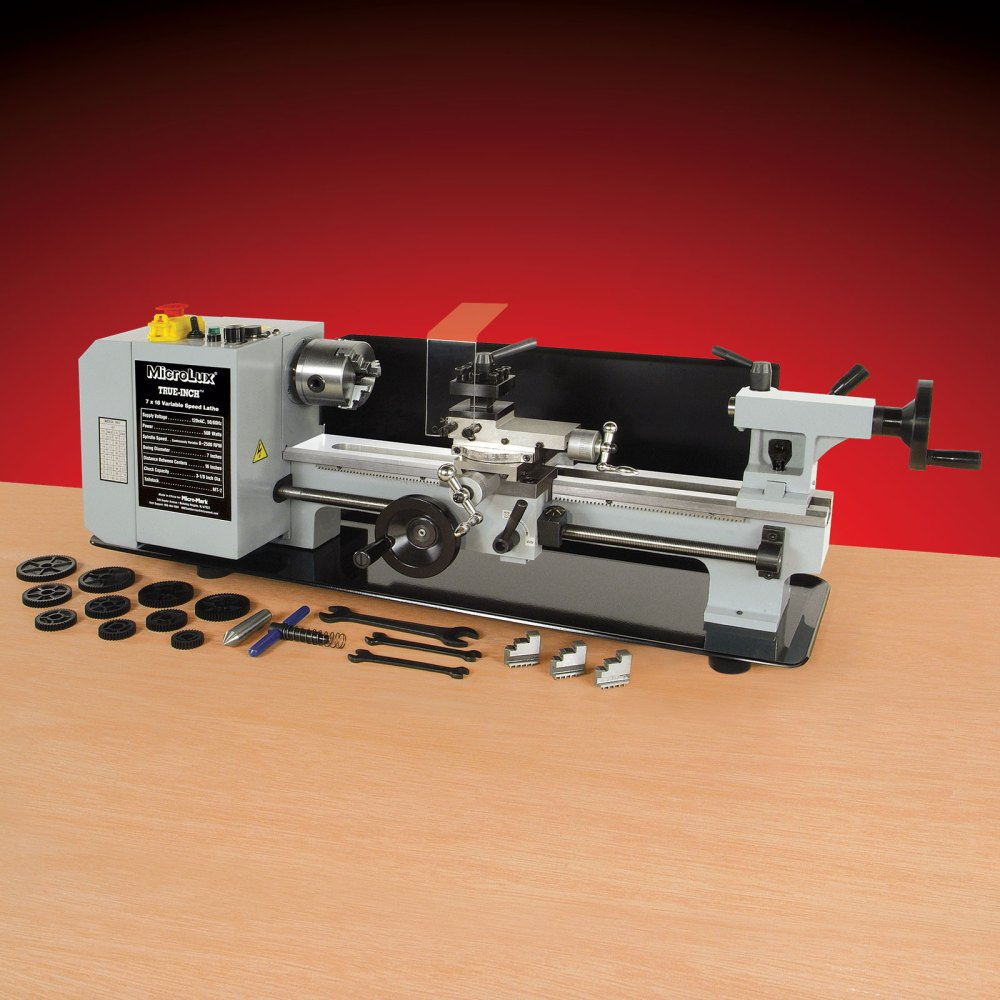 medium resolution of microlux 7x16 mini lathe