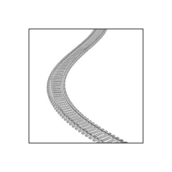 Atlas HO Gauge, Code 83, Nickel Silver Super Flex Track