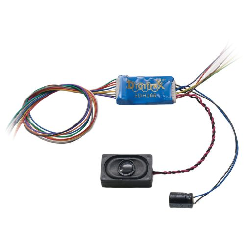 small resolution of digitrax sdh166d ho scale sound motion and function decoder wired generic