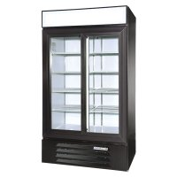 Glass Door Merchandiser Refrigerator Model LV38-1-B