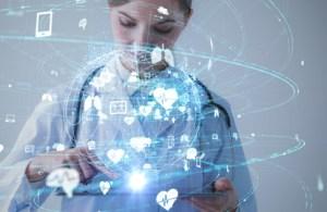 Big data information swirling around female provider