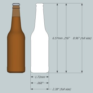 1:35 Beer/Soda Bottles - Ver2