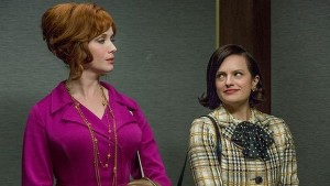 mad men joan peggy