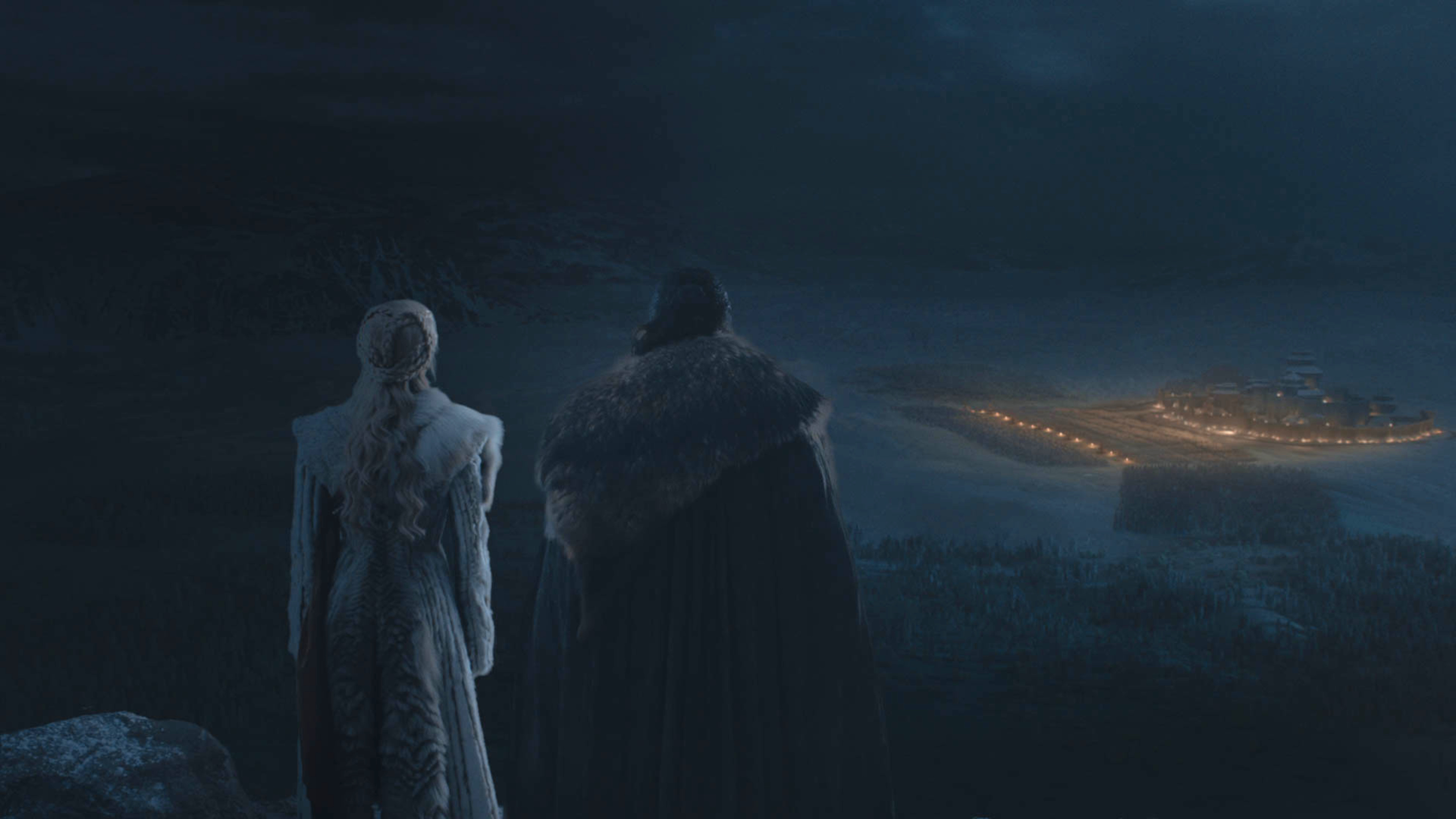 Series: crítica de «Game of Thrones: The Long Night»