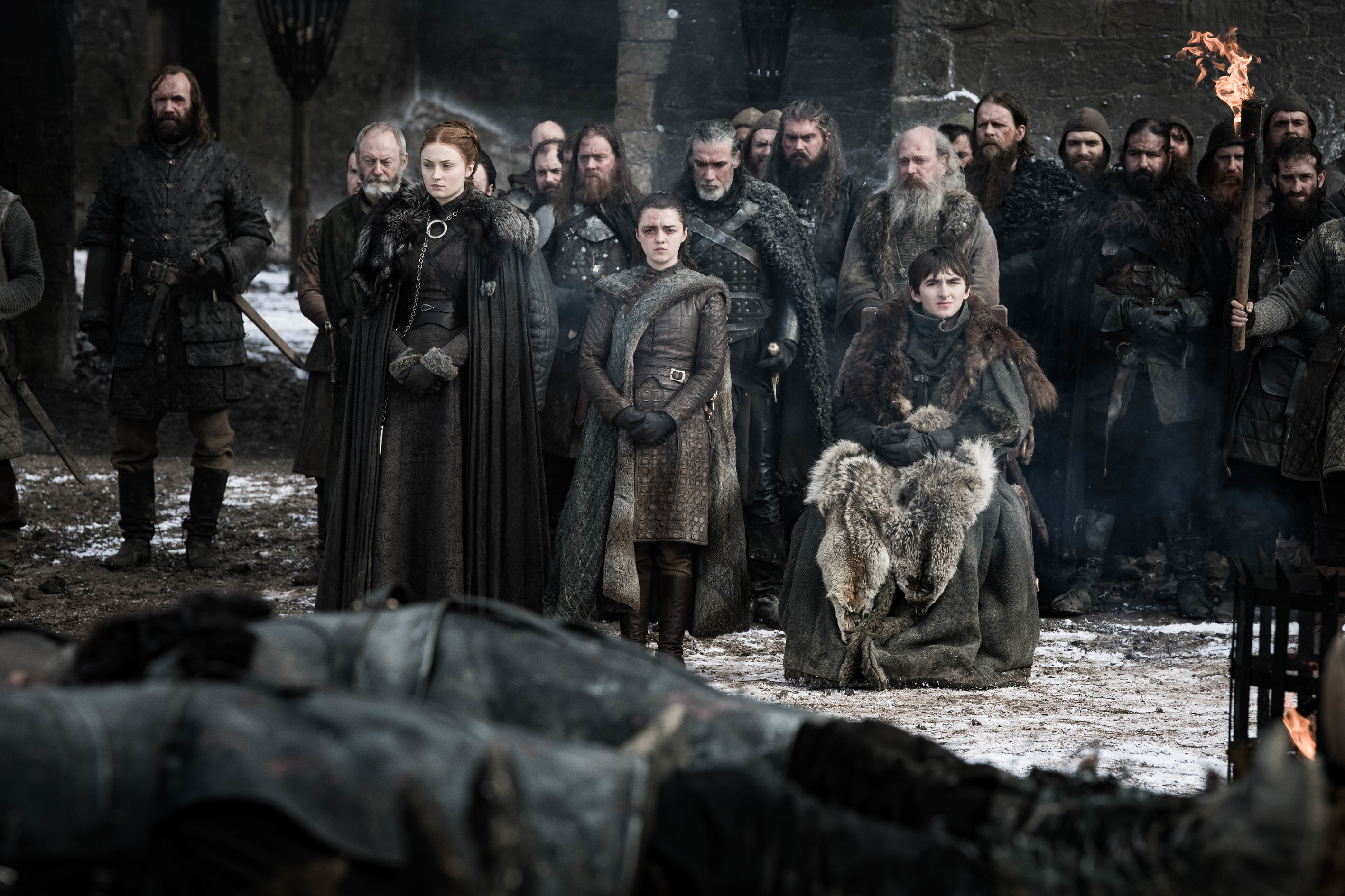 "Series: crítica de ""Game of Thrones: The Last of the Starks"""