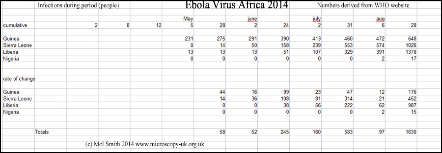 Run. The Ebola Virus is coming...