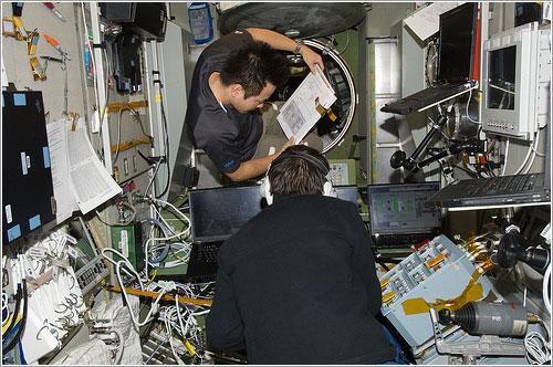 A bordo de la ISS - NASA