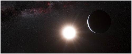 Impresion artística de Alfa Centauri Bb