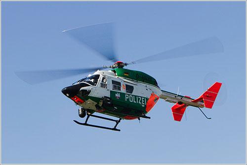 Helióptero en vuelo