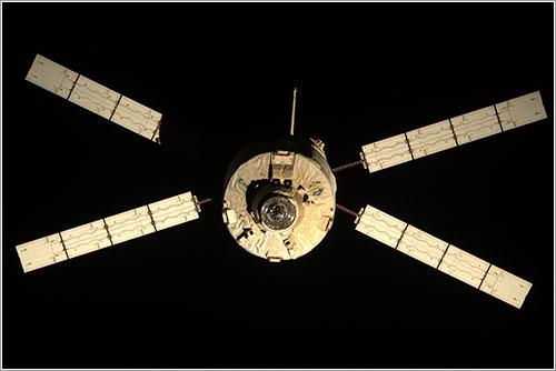 El ATV-3 al partir de la ISS - ESA/NASA