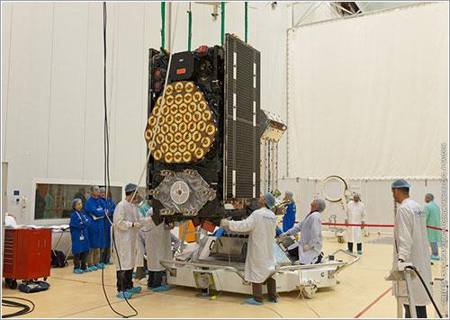 El FM3 durante las pruebas previas al lanzamiento