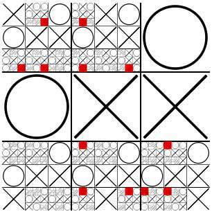 Matematicas Maravillosas: Tres en raya fractal