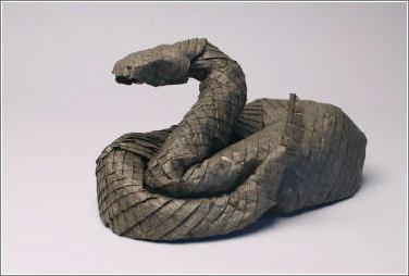 Origami-Rattlesnake