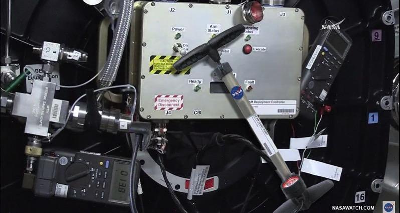 Panel de control del hinchado de BEAM