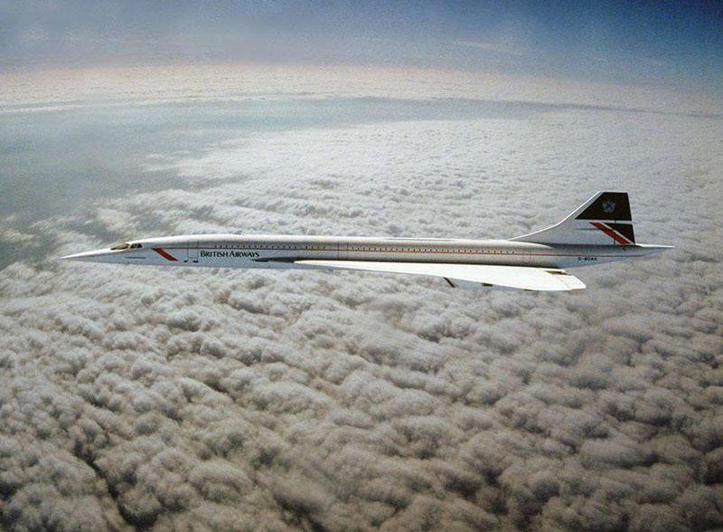 El Concorde a Mach 2
