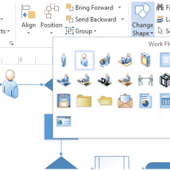 Visio Application Diagram Trs Xlr Wiring Create Professional Diagrams Quickly With The New Microsoft Change Shape