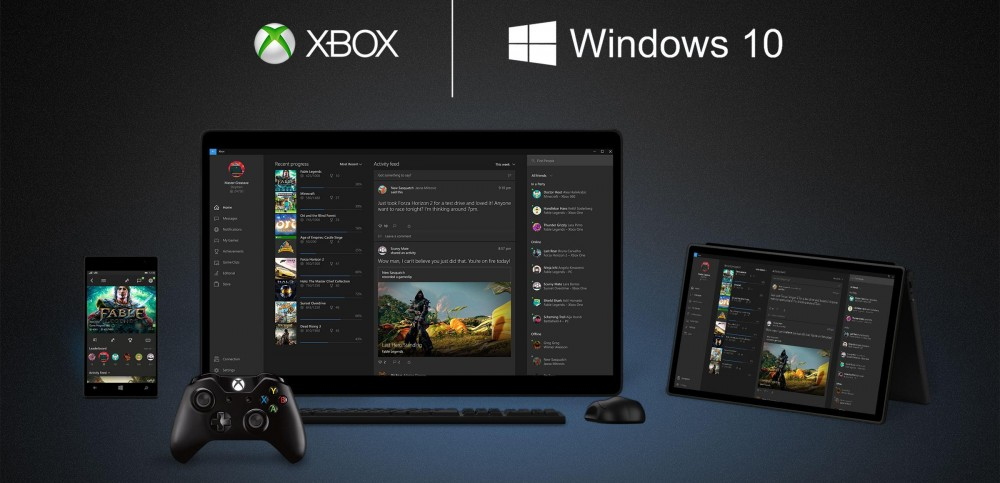 Xbox One corriendo Windows 10