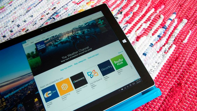 Surface Pro 3(tres) con la tienda de Windows® 10