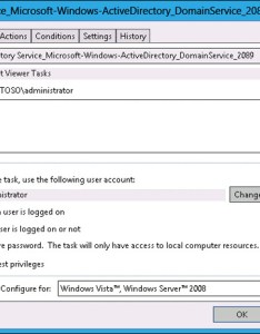 Figure run your task if the user is logged on or off also administering windows server  monitoring and auditing rh microsoftpressstore
