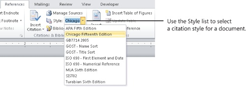 Tracking and Referencing Documents in Microsoft Word 2010